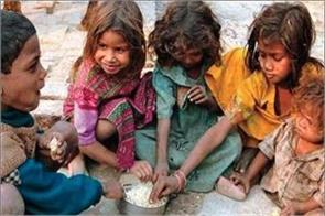 jharkhand has the highest poverty ratio of 37