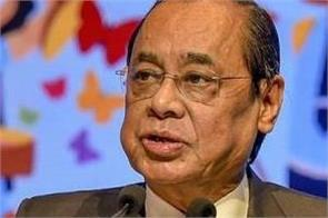 cji ranjan gogoi if we can teach youth to be happy we can control cases