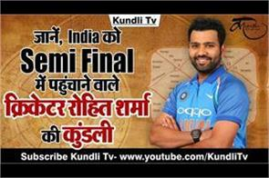 indian cricketer rohit sharma horoscope in hindi