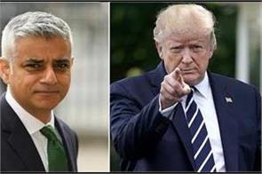 donald trump blames sadiq khan for metropolitan police twitter hack