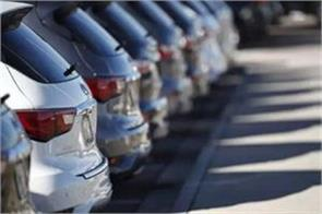 vehicle sales decline by 5 4 percent