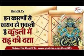 the state of rahu in the horoscope