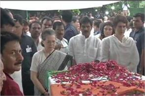 sonia gandhi emotional paid tribute to sheila dixit