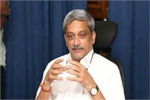 parrikar wanted to go to attack site after surgical strike