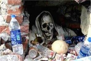 ghost temple in manali