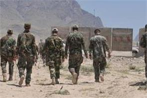 6 security personnel 35 militants killed in central afghan province