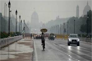 light rainfall in delhi estimates today