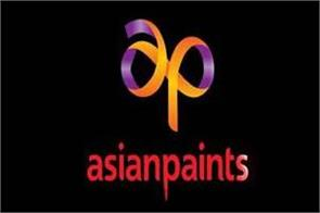 asian paints to profit 672 crore