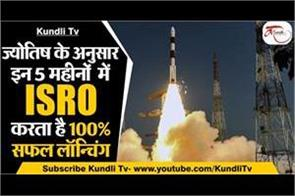 in these 5 months isro does 100 successful launching