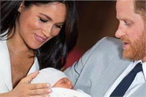 prince harry and meghan won t reveal archie s godparents