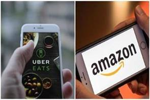 amazon will deal with uber eats india
