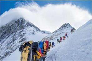 itbp team faced bad weather