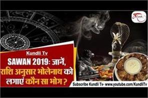 lord shiva prashad bhog according to zodiac signs
