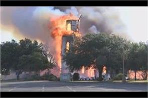 124 year old central texas church burns to ground