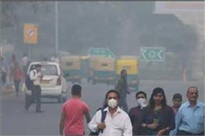 increased pollution in delhi ncr due to ozone