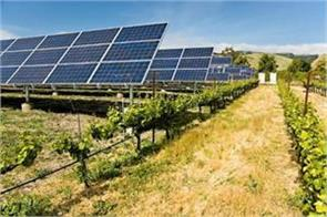 government new scheme for farmers grow crops below put up solar power plant