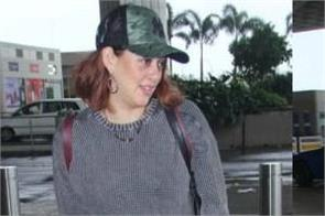hazel keech spotted at airport
