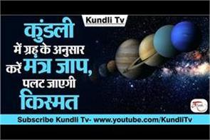 according to planets in horoscope chant these mantras