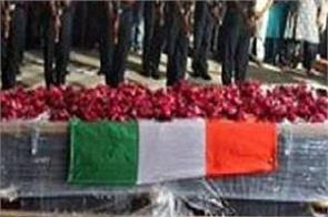 martyr arif pathan gujarat guard of honour jammu kashmir