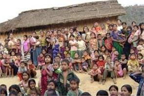 mizoram re identified 26 128 bru refugees in six relief camps of tripura