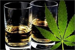 16 million people in the country liquor and 3 1 million people use cannabis