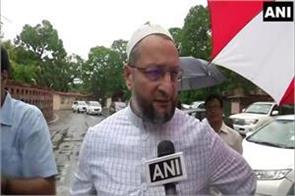 owaisi s shout at shah he is just home minister no god