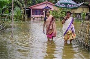 1 000 families affected by floods in mizoram