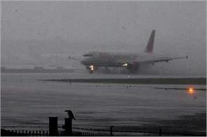 52 flights canceled due to rain main runway closed for 72 hours