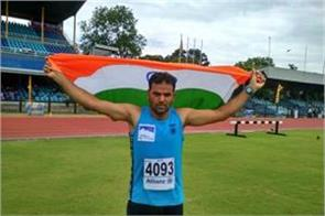 jk police cop won bronze in international athletics competition