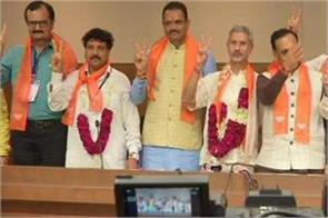 s jaishankar and jugalji thakore wins in rajya sabha bye election
