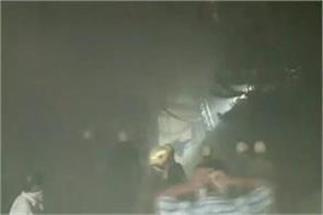 fire in bsnl building at bidhanagar