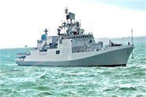 indian navy s warship reached sweden