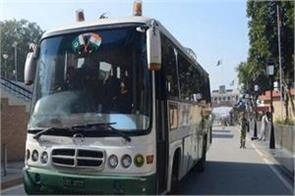 poonch rawalakot bus service resumed after two weeks