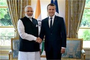 important bilateral meeting between modi and macron