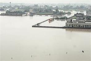 ghaggar river wreaked havoc again