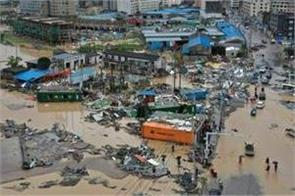 death toll rises 32 as typhoon lekima moves up china coast