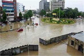 today and tomorrow s heavy rain warning in vadodara