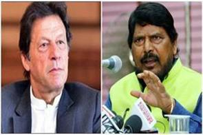 imran khan should improve himself so that peace remains otherwise   athawale
