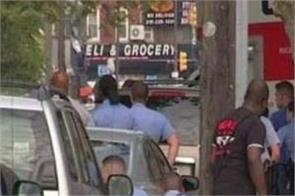 shooting philadelphia policeman injured america 6 injured