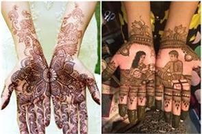 mehndi design not only raksha bandhan but also on independence day