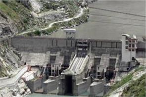 nathpa jhakri power plant restarted 3 out of 6 turbines were run