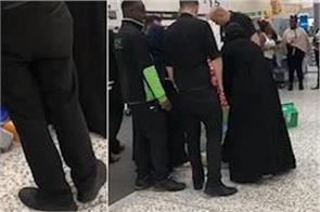 burka wearing muslim lady caught shoplifting in asda  uk