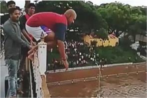 deadly dive in river from high bridge