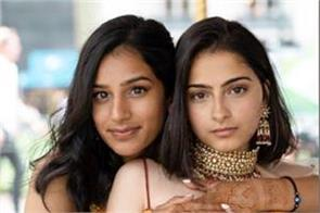 hindu muslim girls express their love photoshoot viral