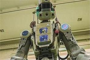 russia launches humanoid robot fedor into space
