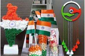 independence day tricolor decoration ideas