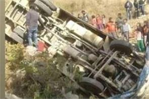 24 killed after passenger bus falls in ditch in pakistan s khyber