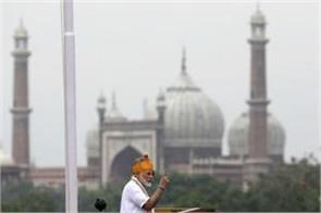 pm modi addresses independence day celebrations for 6th time
