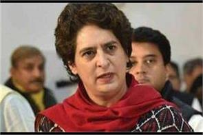 priyanka gandhi attacks modi shah said is democracy left in the country