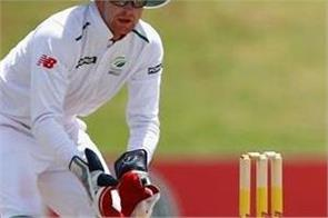 klassen to replace injured wicketkeeper rudy in south africa test team